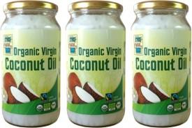 Aktionsset 3St. Bio Kokosöl FairTrade der Extraklasse 950 ml